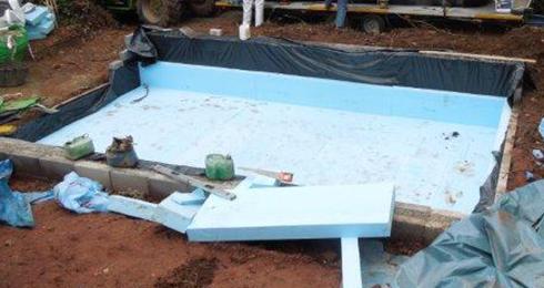 Swimming pool insulation devon for Indoor swimming pool building regulations